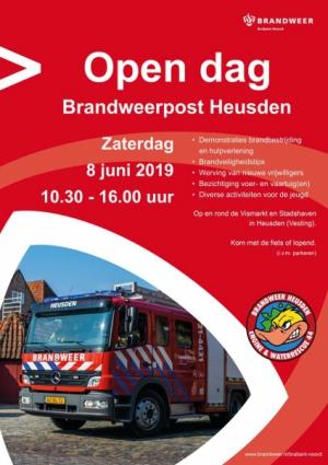 Open dag Brandweer Heusden