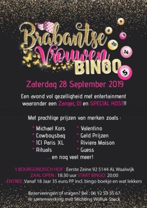 Brabantse Vrouwen Bingo