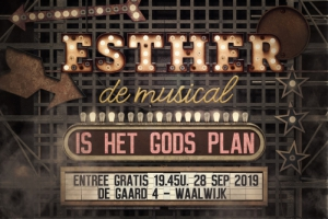 Première Esther de musical