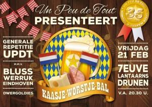 Un Peu de Tout presenteert: Kaasje-Worstje-Bal