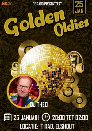 GOLDEN OLDIES - 25 januari 2020