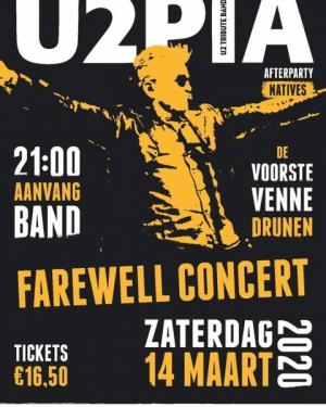 Farewell concert U2pia