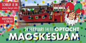 Maoskesdammer Optocht
