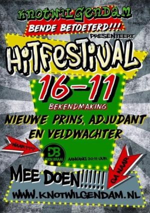Hitfestival bij Den Braai