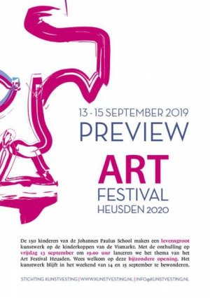 Preview ART Festival Heusden 2020